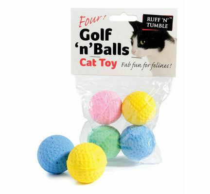 Sharples 'N' Grant Golf 'N' Balls Assorted Cat Toy