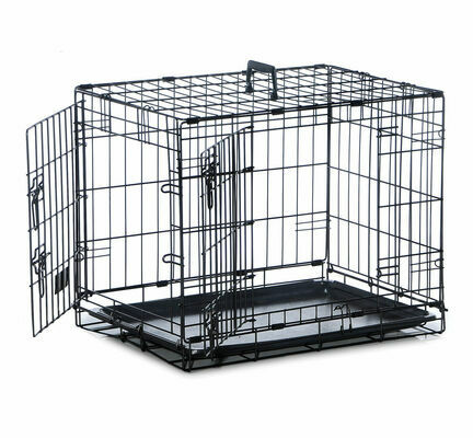 Sharples 'N' Grant Folding Two Door Dog Crate Cage