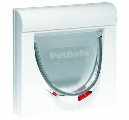 PetSafe Staywell Magnetically Operated Slimline Cat Flap White