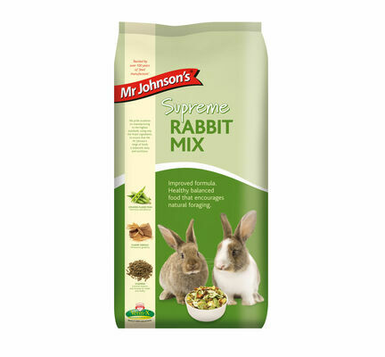 Mr Johnson\'s Supreme Rabbit Food Mix