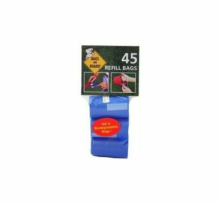 Bags On Board Refill Blue (45 Bags)