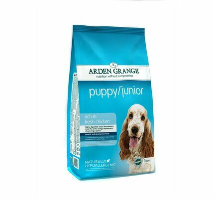 Arden Grange Puppy/Junior Chicken & Rice Dog Food