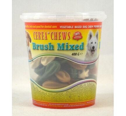 Antos Cerea Mixed Mini Toothbrush Chews Vegetarian Dog Treats