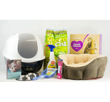 The Pet Express Kitten Cat Starter Kit