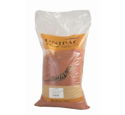 Unipac Terracotta Reptile Calcium Sand Substrate - 12.5kg
