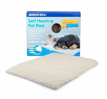 Ancol Sleepy Paws Self Heating Pet Pad Cat/Dog Bed