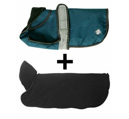 Danish Design 2 In 1 Blue Four Seasons Waterproof Performance Dog Coat
