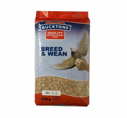 Bucktons Breed & Wean Pigeon Racing Food 20kg