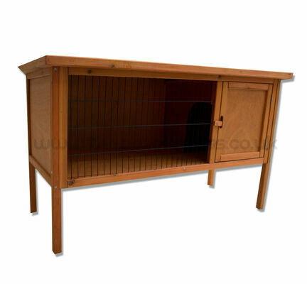 Walter Harrison Guinea Pig hutch with Legs - Almost 4ft (3.77ft Actual Size)