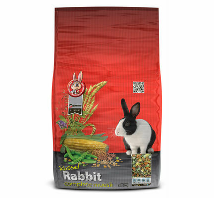 Supreme Russel Rabbit Complete Muesli Rabbit Food - 12.5kg