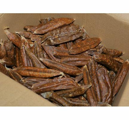 Hollings Natural Dog Treat Dried Sausages Bulk 3kg