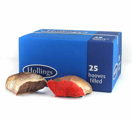 25 x Hollings Natural Filled Hooves Dog Treats