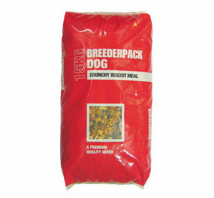Breederpack Dog Food Mixer Crunchy Biscuits 15kg