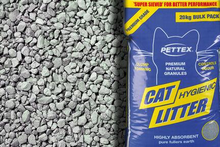 Pettex Premium Grey Clumping Cat Litter