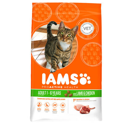 Iams Cat Adult Rich In Lamb
