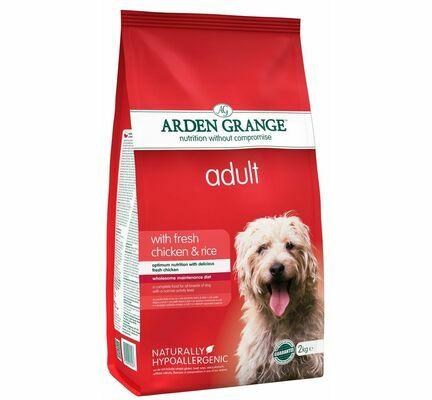 Arden Grange Chicken & Rice Adult Dry Dog Food