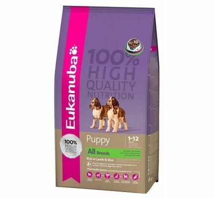 Eukanuba Lamb & Rice Puppy/Junior Dog Food
