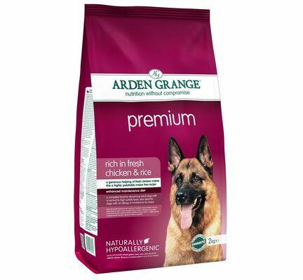 Arden Grange Premium Chicken & Rice Adult Dog Food
