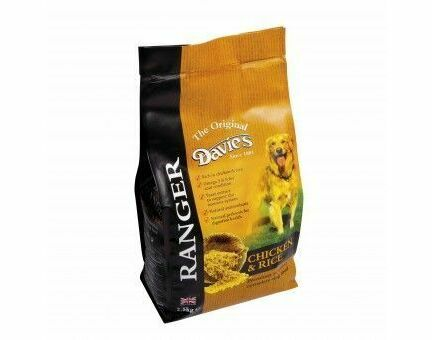 Davies Ranger Chicken & Rice Dog Food