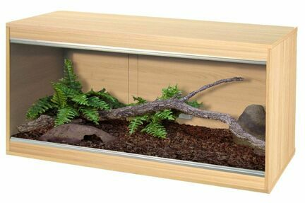 Vivexotic Repti-Home Medium Vivarium - Oak