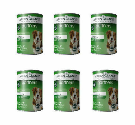 6 x Arden Grange Partners Lamb & Rice Wet Dog Food