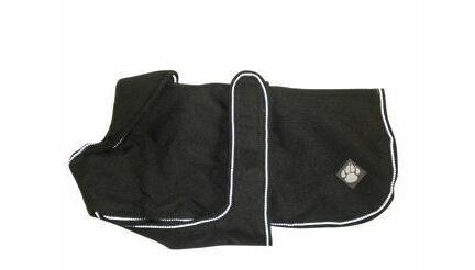 Danish Design Luxury Black Waterproof Dog Coat