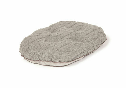 Danish Design Bobble Grey Pewter Quilted Dog Mattress