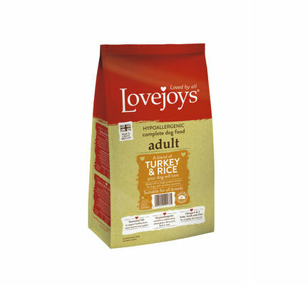 Lovejoys Turkey & Rice Dry Hypoallergenic Adult Dog Food