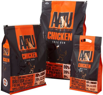AATU 80/20 Chicken Dry Dog Food - Various Sizes