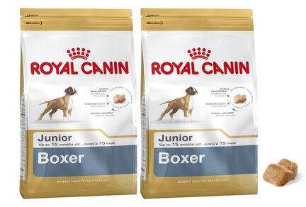2 x 12kg - Royal Canin Multi-Buy Boxer 30 Dry Puppy (Junior Dog) Food