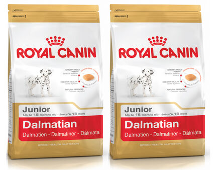 2 x 12kg - Royal Canin Multi-Buy Dalmatian 25 Dry Puppy (Junior Dog) Food