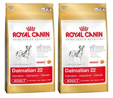 2 x 12kg Royal Canin Dalmatian 22 Dry Adult Dog Food