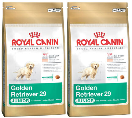 2 x 12kg - Royal Canin Multi-Buy Golden Retriever 29 Junior Dry Puppy Food