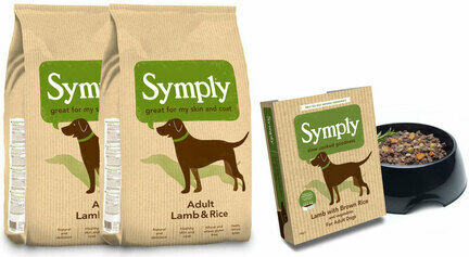 Symply Adult Lamb & Rice Wet & Dry Dog Food Bundle
