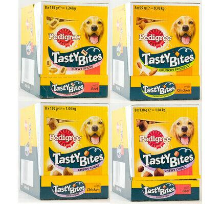 Pedigree Tasty Bites Meaty Dog Treats - Variety Pack
