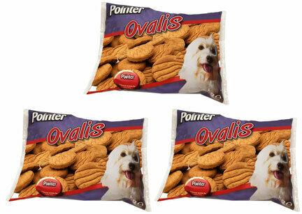 3 x 2kg Pointer Ovalis Dog Treats Multibuy