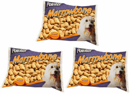 3 x 2kg Pointer Marrowbone Dog Treats Multibuy