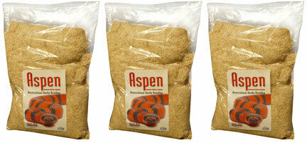 3 x 3.5kg Habistat Aspen Professional Snake Bedding Advanced Vivarium Substrate Multibuy