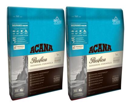 2 x 11.4kg Acana Regionals Pacifica Salmon Dry Dog Food Multibuy