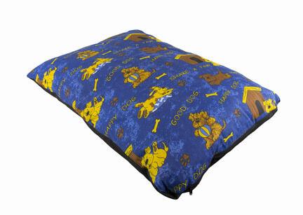 The Pet Express Happy Dog Blue Luxury Dog Duvet