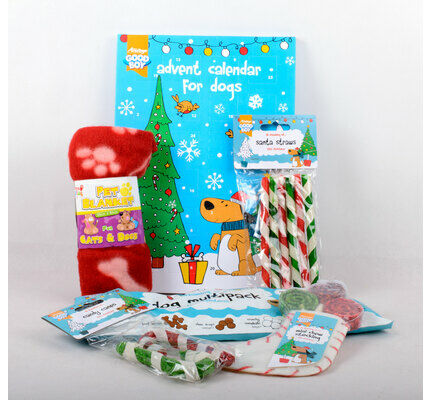 The Pet Express Dog Christmas Present Gift Bundle