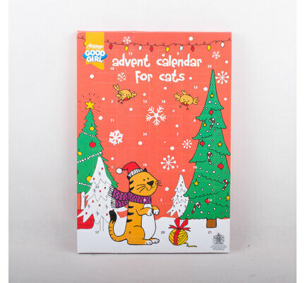 Good Girl Cat Christmas Advent Calendar
