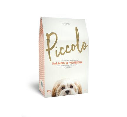 Piccolo Salmon & Venison Small Breed Adult Dog Food