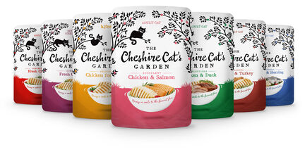 8 x 85g Cheshire Cat's Garden Multipack Pouches