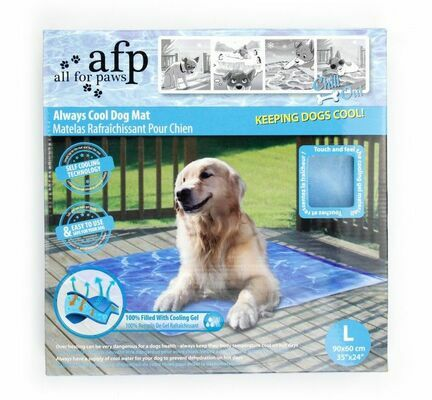 All For Paws Blue Gel Cooling Dog Mat