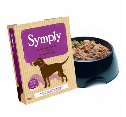 28 x 395g Symply Adult Duck with Potato Wet Dog Food