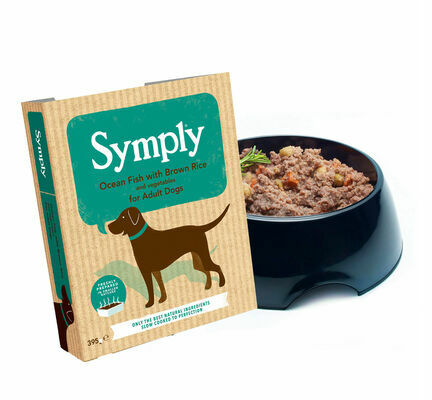 28 x 395g Symply Adult Ocean Fish with Brown Rice & Veg Wet Dog Food