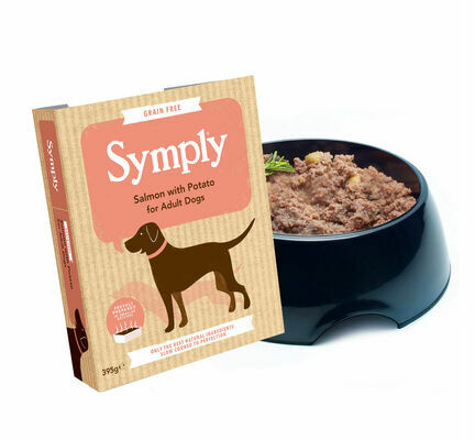 7 x 395g Symply Adult Salmon & Potato Wet Dog Food