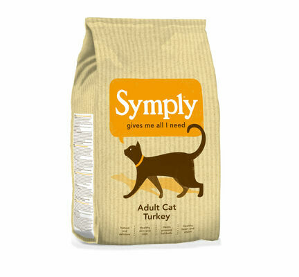 Symply Turkey Adult Dry Cat Food