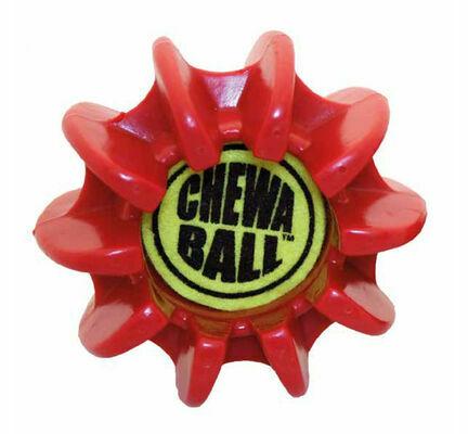 James & Steel Medium Tuflex Red Dog Chew Toy
